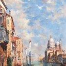 "European styleHand painted oil painting on canvas""Venice""80x160CM(33""x63"")Unframed-41"
