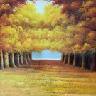 "Hand painted oil painting on canvas""tree""50x60CM(19.7""x23.6"")Unframed-83"