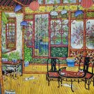 """Hand painted oil painting on canvas""""Chinese style""""75x100CM(30""""x40"""")Unframed-101"""