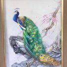 "Hand painted oil painting on canvas""Gorgeous peacock""75x100CM(30""x40"")Unframed-87"