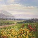 """Hand painted oil painting on canvas""""Creek""""60x120CM(23.6""""x47.2"""")Unframed-555"""
