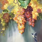 """Hand painted oil painting on canvas""""Grape""""60x90CM(23.6""""x35.4"""")Unframed-91"""