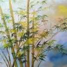 "Hand painted oil painting on canvas""Bamboo""50x60CM(19.7""x23.6"")Unframed-106"