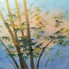 """Hand painted oil painting on canvas""""Bamboo""""50x60CM(19.7""""x23.6"""")Unframed-114"""
