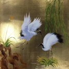 "Chinese style Hand painted oil painting on canvas""Red-crowned crane""50x60CM(19.7""x23.6"")Unframed-09"