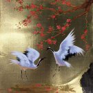 "Chinese style Hand painted oil painting on canvas""Red-crowned crane""50x60CM(19.7""x23.6"")Unframed-10"