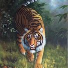 """Simple modern Hand painted oil painting on canvas""""tiger""""60x90CM(23.6""""x35.4"""")Unframed-25"""
