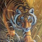 """Simple modern Hand painted oil painting on canvas""""tiger""""60x90CM(23.6""""x35.4"""")Unframed-26"""