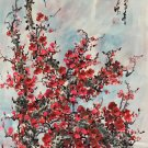 "Hand painted oil painting on canvas""Plum blossom""60x120CM(24""x48"")Unframed-116"