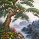 """Hand painted oil painting on canvas""""pine""""80x120CM(33""""x48"""")Unframed-600"""