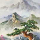 """Hand painted oil painting on canvas""""pine and cranes""""60x120CM(23.6""""x47.2"""")Unframed-616"""