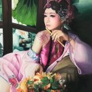 "Chinese style Hand painted oil painting on canvas""Chinese beauty""90x120CM(36""x48"")Unframed-59"