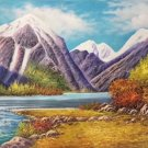 "American style Hand painted oil painting on canvas""Creek""70x180CM(27.6""x70.9"")Unframed-682"