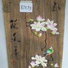 Pure handmade painting on wood-07
