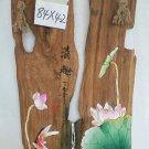 Pure handmade painting on wood-08