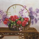 "Simple modern Hand painted oil painting on canvas""Flowers""60x90CM(23.6""x35.4"")Unframed-67"