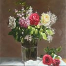 "Simple modern Hand painted oil painting on canvas""Flowers""60x90CM(23.6""x35.4"")Unframed-72"