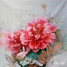"""Hand painted oil painting on canvas""""Peony""""100x100CM(40""""x40"""")Unframed-48"""