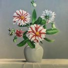 "Simple modern Hand painted oil painting on canvas""Flowers""50x60CM(20""x24"")Unframed-79"