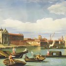 "European style Hand painted oil painting on canvas""Venice""70x180CM(30""x72"")Unframed-47"