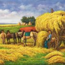 "Hand painted oil painting on canvas""bumper harvest""60x120CM(23.6""x47.2"")Unframed-217"
