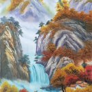 "Hand painted oil painting on canvas""Creek""60x120CM(23.6""x47.2"")Unframed-771"