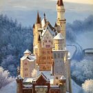 "Hand painted oil painting on canvas""castle""60x90CM(23.6""x35.4"")Unframed-791"