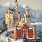 "Hand painted oil painting on canvas""castle""60x90CM(23.6""x35.4"")Unframed-794"