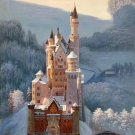 "Hand painted oil painting on canvas""castle""60x90CM(23.6""x35.4"")Unframed-796"