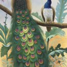 "Simple modern Hand painted oil painting on canvas""Gorgeous peacock""60x120CM(23.6""x47.2"")Unframed-116"