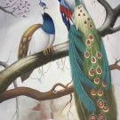 "Simple modern Hand painted oil painting on canvas""Gorgeous peacock""60x120CM(23.6""x47.2"")Unframed-117"