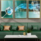 Modern abstract wine glass sailboat decorative Wall Decor Art painting-10