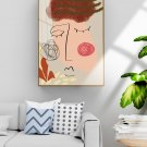 Abstract decorative painting in simple hand-painted style-12