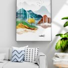 Light luxury abstract landscape artistic decoration painting-13