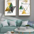 Light luxury creative abstract landscape elk decorative painting-14