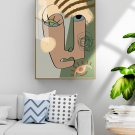 Abstract decorative painting in simple hand-painted style-15