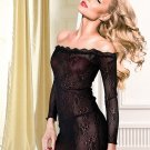 Women Lace Short Nightwear Sleepwear S String Gown Sexy Dress Set Lingeri