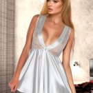 Women Satin Short Nightwear Sleepwear Gown Sexy Dress Robe Lingerie Nightgown