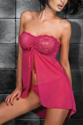Women Lace Babydoll Short Nightwear Sleepwear Gown Sexy Dress S String Lingere