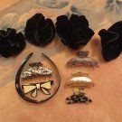Alexandre de Paris Signed FRANCE Hair Clip 10 Pieces.