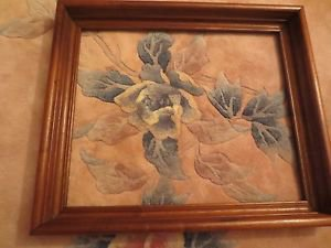 Vintage Old Solid Wood Picture Art Frame 17 7/8 x 14 7/8 In.