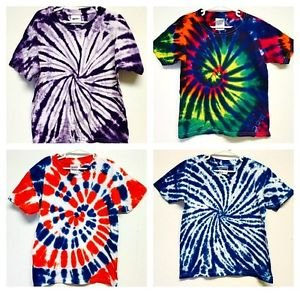 Youth Tie dye t shirts