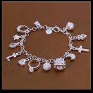Costume jewelry - Beautiful charm bracelet