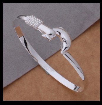 Costume jewelry - dolphin bangle