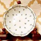 Royal LIMOGES Saint- Germain Fine Porcelain Candy dish ivory w/ Flowers~ France