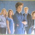 Twilight Saga Edward Cullen Family Portrait Vinyl Poster 34.5 X 23.5 Blue Beauty