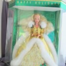 Happy Holidays Barbie Doll Blond 1994 Vintage Mattel Special Edition NRFB