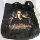 New Moon Twilight Saga Edward Cullen Pattinson Canvas Tote Book Bag Shopping