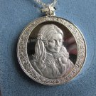 1974 Vintage Franklin Mint Mothers Day Sterling Silver Pendant Chain Necklace 17g