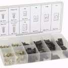 170 PC. U CLIP AND SCREW ASSORTMENT